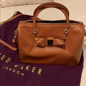 Ted Baker leather handbag crossbody strap
